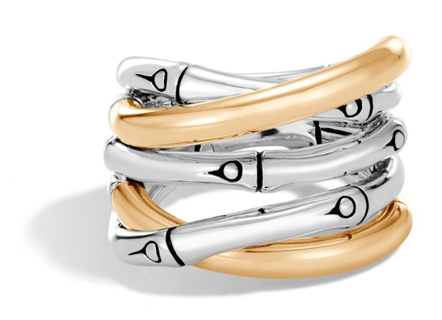 Bamboo Ring $595. Available at Neiman Marcus at Fashion Island, 949.759.1900 :: neimanmarcus.com