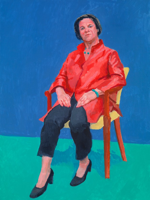 Stephanie Barron (Courtesy of the artist David Hockney, photo by Richard Schmidt)
