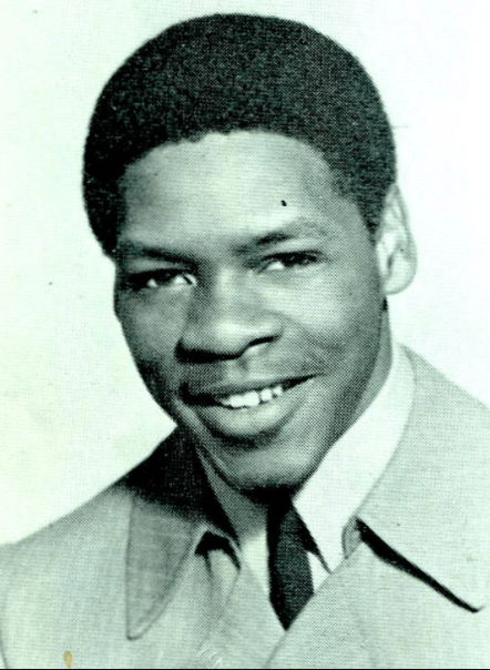 James McAlister's 1970 high school yearbook photo from Blair High School. He passed away over the weekend. He was 66.