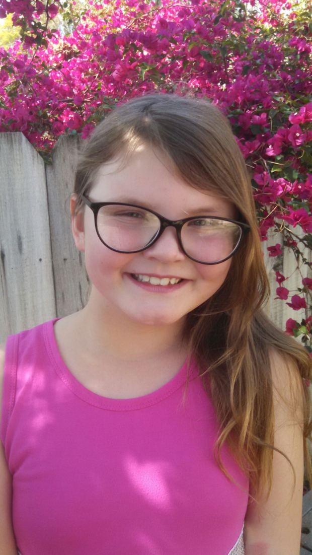 Natalie Parham is a third-grader Belvedere Elementary School. (Courtesy photo)