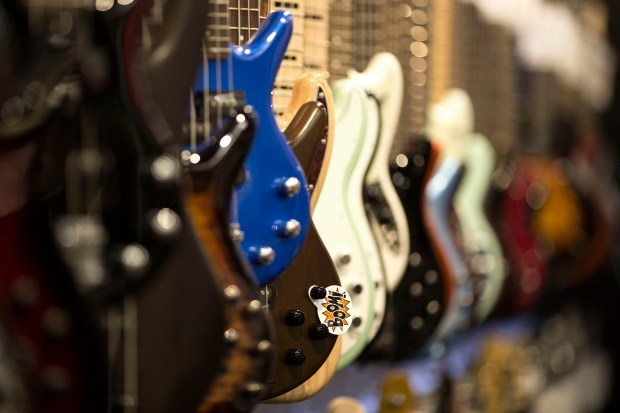 Guitar Center Covina has moved to a newly remodeled 13,989-square-foot facility in Glendora. All locations are holding the Guitar-A-Thon through May 9. (Correspondent photo by Josh Estey).
