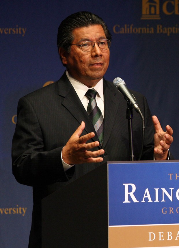 Riverside Councilman Andy Melendrez wants a review of the city's rules on attorney client privilege.File photo