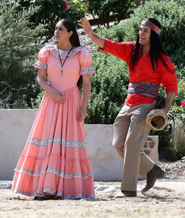 """Kayla Contreras and Joseph Valdez will reprise their leads roles for the 2018 season of """"Ramona"""" in Hemet's Ramona Bowl, along with the rest of the speaking cast. (File photo by Frank Bellino/The Press-Enterprise/SCNG)"""