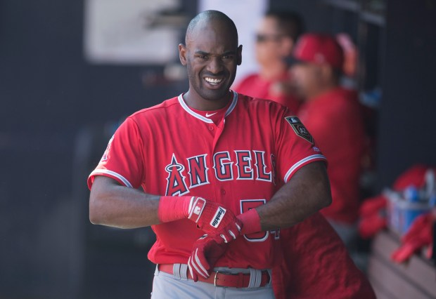 A revamped swing helped Jabari Blash get off to a sizzling start with the Angels' Triple-A team in Salt Lake City. (Photo by Kevin Sullivan/Orange County Register/SCNG)