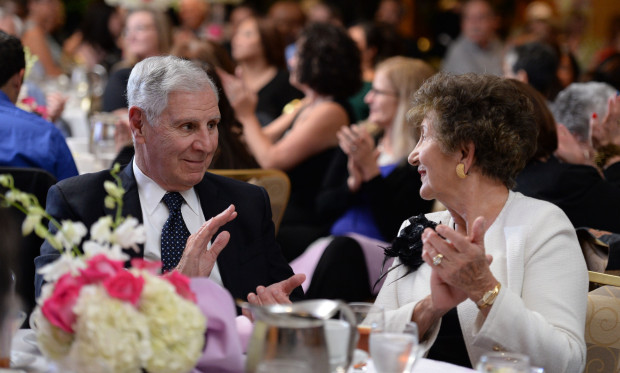 Former Californian Governor George Deukmejian attended the Press Telegram Amazing Women 2013 banquet in Lakewood, CA. on Wednesday, November 13, 2013. (Staff File Photo)