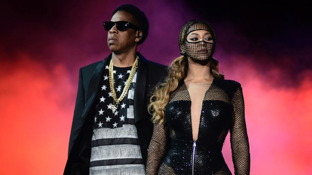 Jay-Z and Beyoncé will headline the Rose Bowl in Pasadena on Sept. 22 and 23 as well as SDCCU Stadium in San Diego on Sept. 27. (Photo by Mason Poole, Associated Press)