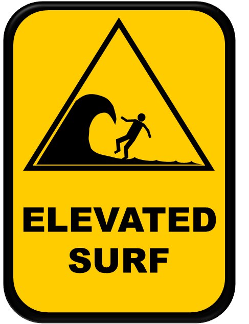 Elevated surf