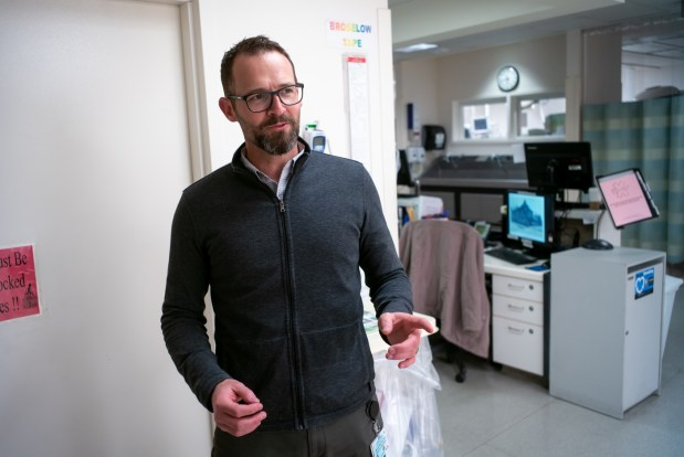 Dr. Michael Menchine of Emergency Services at USC Medical Center. (Photo by David Crane, Los Angeles Daily News/SCNG)