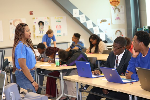 The San Bernardino-based BLU Educational Foundation offers scholarships, mentoring and other programs to help Inland youths on their paths to college.(Photo courtesy of BLU Educational Foundation)