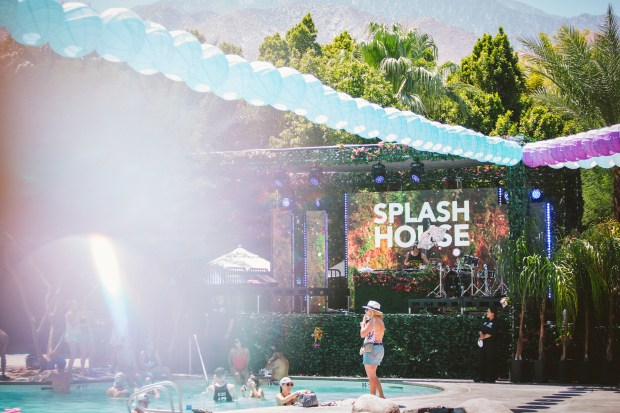 Splash House, a pool party EDM music festival, returns to Palm Springs in August.(Courtesy of Splash House)