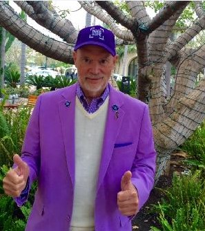 Former Rancho Palos Verdes mayor and California Coastal; Commissioner Larry Clark, who waged a public battle against pancreatic cancer for more than five years became a spokesman for nonprofit group the Pancreatic Cancer Action network.(Courtesy Photo)