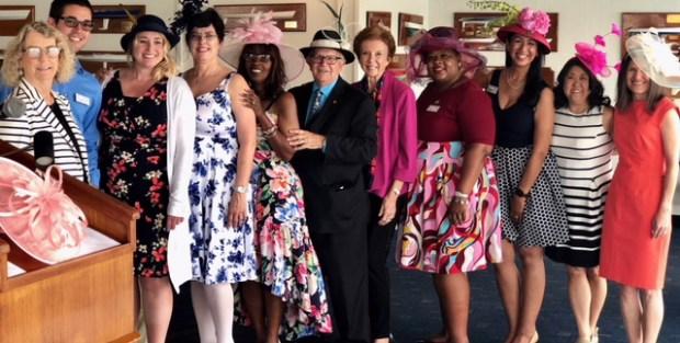From left: Debbie Thorpe, Brett Bradbury, Whitney Leathers, Nancy Hays, Robyn Gordon-Peterson, Rich Archbold, Beverly O'Neill, Michele Dobson, Joen Garnica, Debra Kahookele and Cindi Witte. (Courtesy photo)