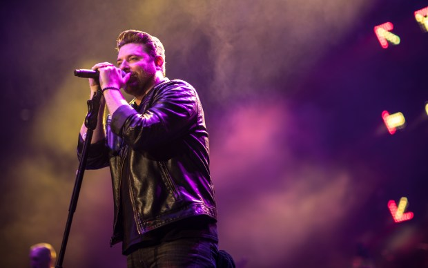 Country music singer-songwriter Chris Young will headline Coastal Country Jam at Huntington State Beach on Sunday, June 24. (Photo by Jeff Johnson Images)