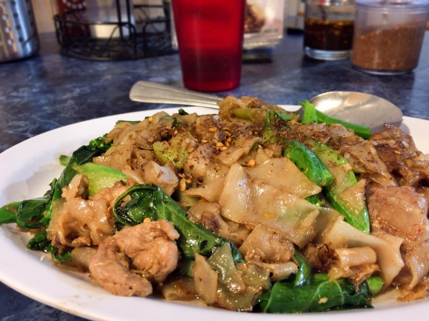 Pad see ew at Thai and Laos Market in Anaheim. (Photo by Brad A. Johnson, Orange County Register/SCNG)