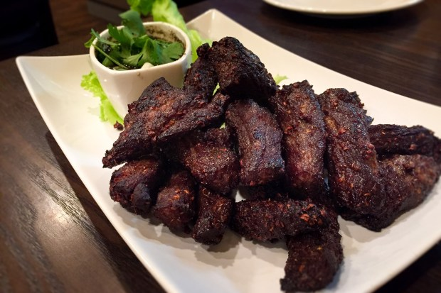 Beef jerky at Chada Thai in Garden Grove. (Photo by Brad A. Johnson, Orange County Register/SCNG)