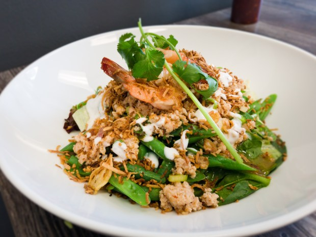 Chef's salad at Street Thai in Huntington Beach. (Photo by Brad A. Johnson, Orange County Register/SCNG)