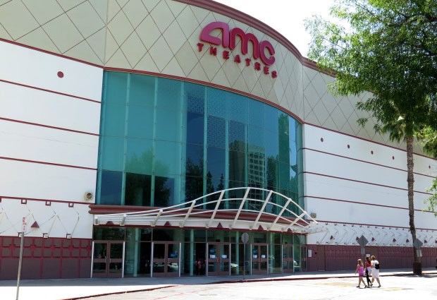 AMC has instituted a MoviePass-like program specific to their theaters, something that's been predicted by analysts for some time. Customers arrive on Wednesday, June 21, 2018, at the Woodland Hills AMC. (Photo by Dean Musgrove, Los Angeles Daily News/SCNG)