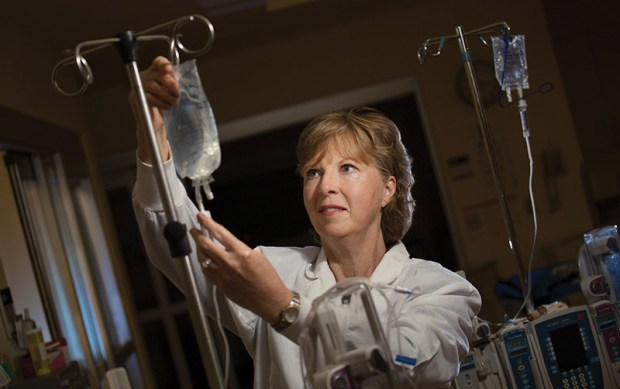 Christine Latham, professor emeritus of nursing, was elected to the Association of California Nurse Leaders board of directors. (Photo courtesy of Cal State Fullerton)