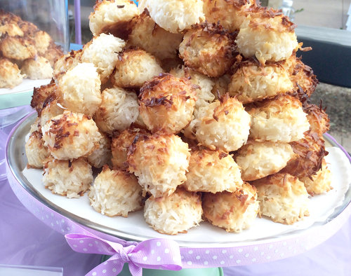 The Little Sweet Place will bring its coconut macaroons to the Long Beach Vegan Festival July 7. Photo courtesy The Little Sweet Place.