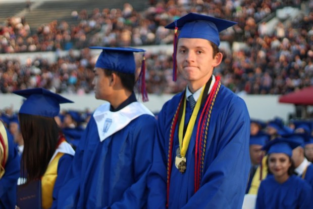 Carlos Carrillo was named San Gabriel High School's valedictorian Wednesday. (Courtesy of Katherine Huang/The Matador)