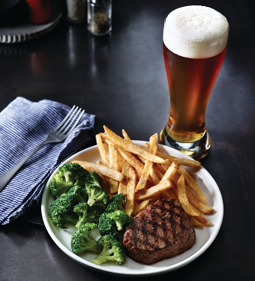 Applebee's has added top sirloin steak to its 2 for $20 menu for a limited time. (Photo courtesy of Applebee's).