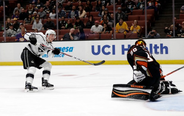 Kings newcomers Jaret Anderson-Dolan and Austin Wagner have lots to display