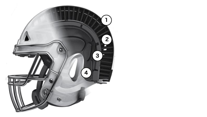 VICIS Zero 1 helmet