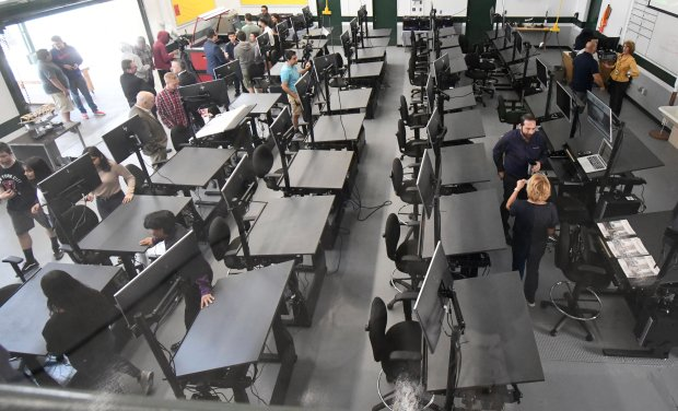 Canoga Park High School's aspiring engineers have a new learning hangout: a lab