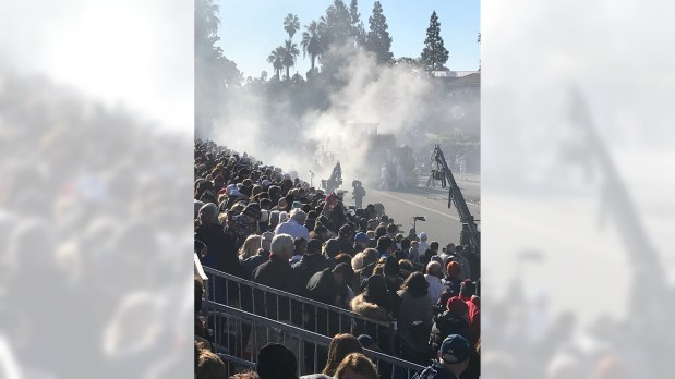 What the Rose Parade's 'literal train wreck' means for 2019