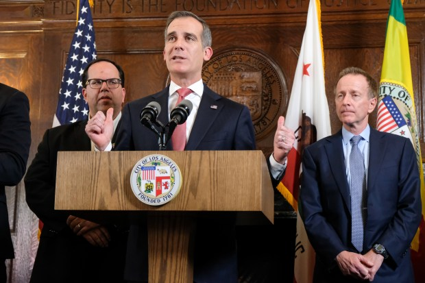 Eric Garcetti would 'look seriously' at a U.S. Senate bid; what else could his future hold?
