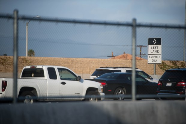 On 10 Freeway, cheaters and solo drivers clogging ExpressLanes may
