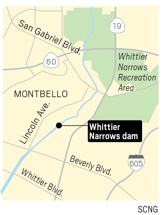 Feds rush Whittier Narrows Dam fix to prevent breach that