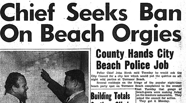 South Bay History: Chief Stroh leads Torrance Police