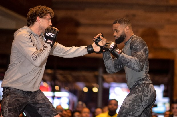 UFC 235: Tyron Woodley and Ben Askren are finally fighting together again
