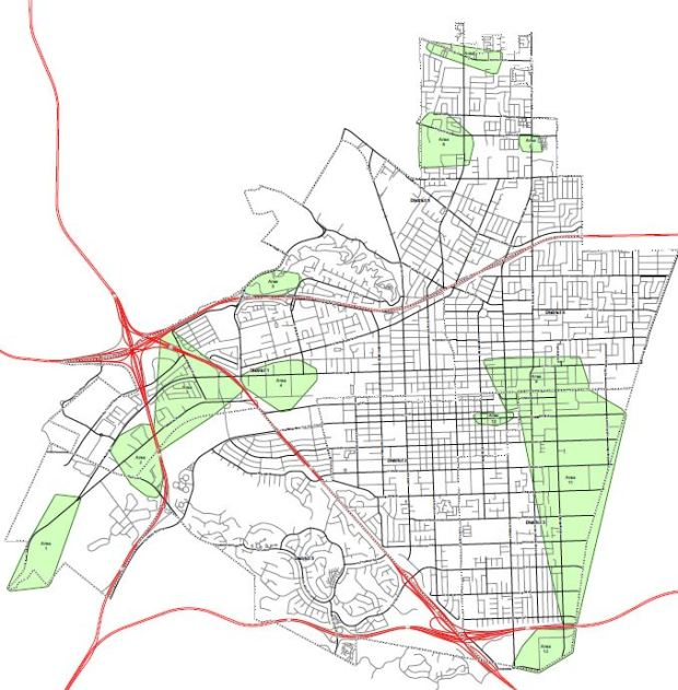 Here's where cannabis businesses could operate in Pomona ... on rancho cucamonga map, canyon crest map, downtown l.a. map, moreno valley map, banning map, desert cities map, south coast metro map, fontana map, sacramento map, mission gorge map, bernardino county map, ventura county map, santa clara map, riverside map, palm springs map, downieville map, mt. san antonio map, sonoma co map, brigham city map, imperial valley map,