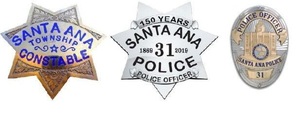 Some Santa Ana police officers to don vintage-inspired