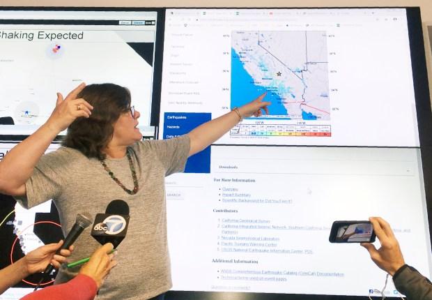 科学家说,南加州一直在经历地震干旱