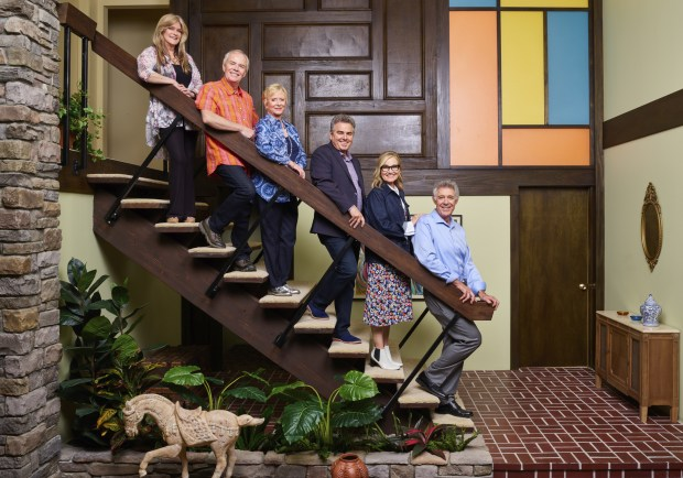 Home used for 'The Brady Bunch' exterior now looks like the 50-year-old sitcom inside
