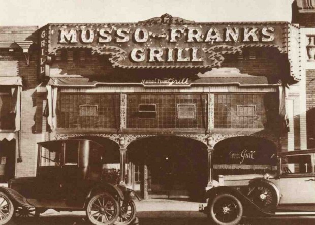 Hollywood's century-old Musso & Frank Grill: Closed but hopeful during coronavirus crisis