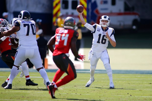 for rams jared goff 517 yard 4 turnover game is one to remember forget orange county register for rams jared goff 517 yard 4