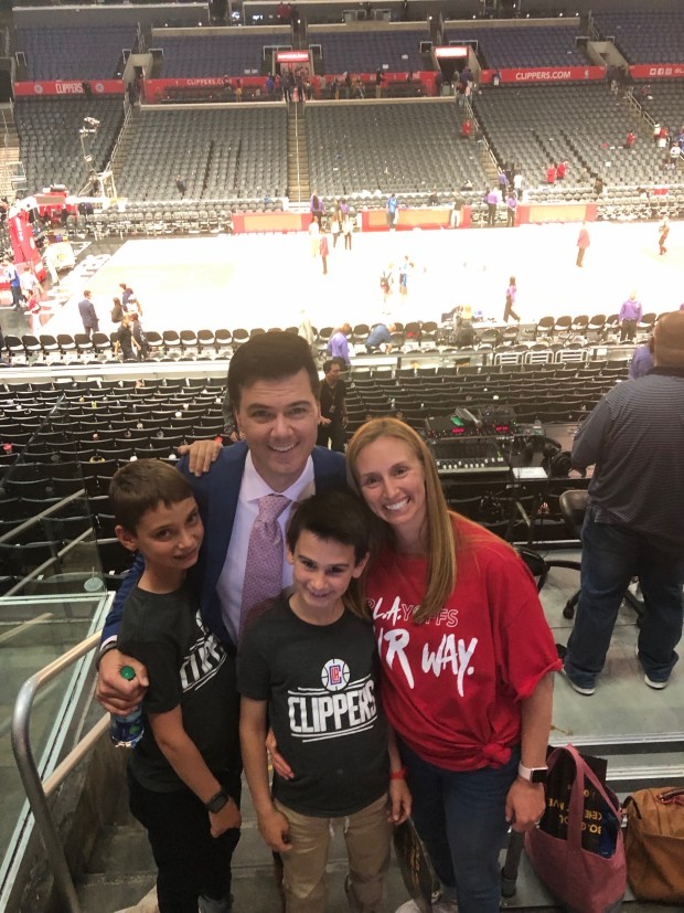 Brian Sieman living his dream as Clippers' new TV play-by-play broadcaster