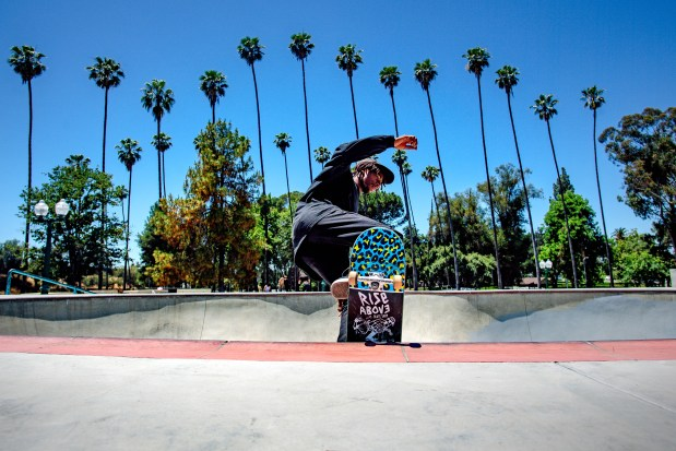 Skaters waiting for shuttered skateparks to open up; in the meantime, they're getting creative