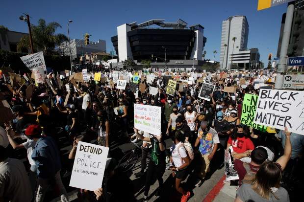 How far into the future can LA-area Black Lives Matter demonstrations endure?