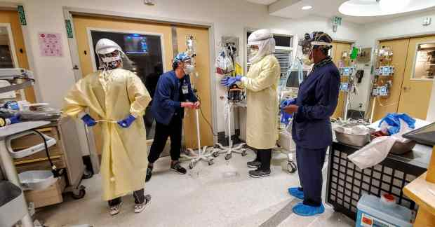 Medical teams feel heat as unbounded LA County hospitalizations climb to record 5,763