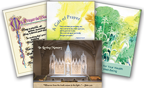 Sisters of Charity prayer cards