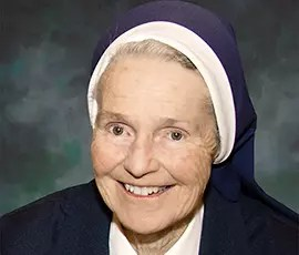 In Memoriam: Sister Marguerite McGilly, SC
