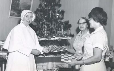 Christmas Events at St. Vincent's Hospital, Manhattan: Photographs, 1943 – 1985