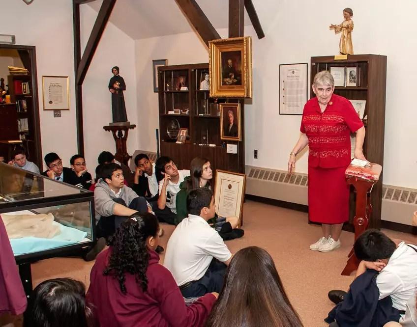 Sister Constance Brennan—Teacher, Museum Docent and Archivist