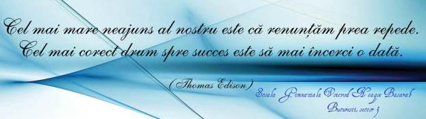 citat Edison- Scoala Voievod Neagoe Basarab