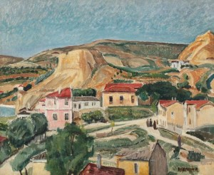 Peisaj in Balcic - Lucian Grigorescu